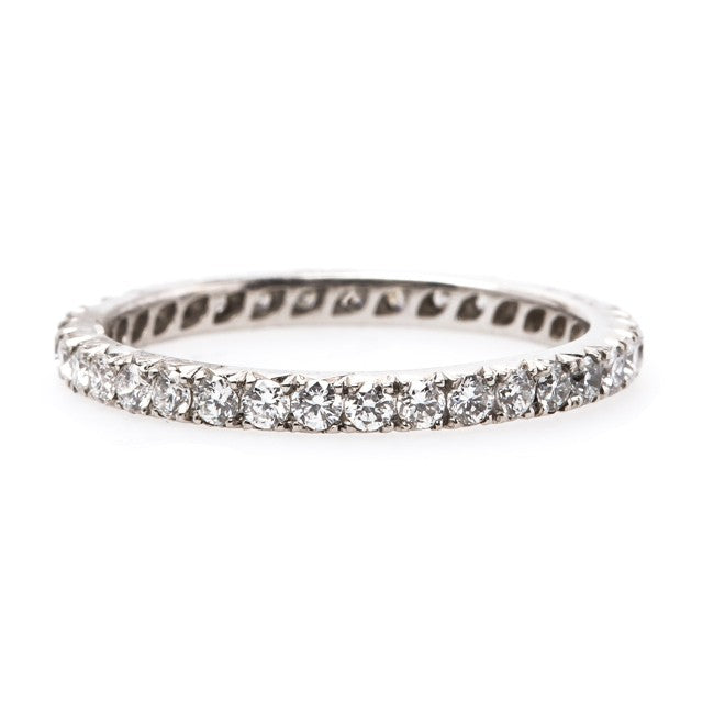 Handmade Eternity Wedding Band | Bordeaux from Trumpet & Horn