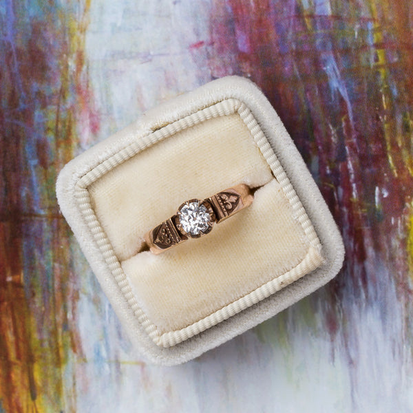 Antique Solitaire Engagement Ring | Braddock from Trumpet & Horn