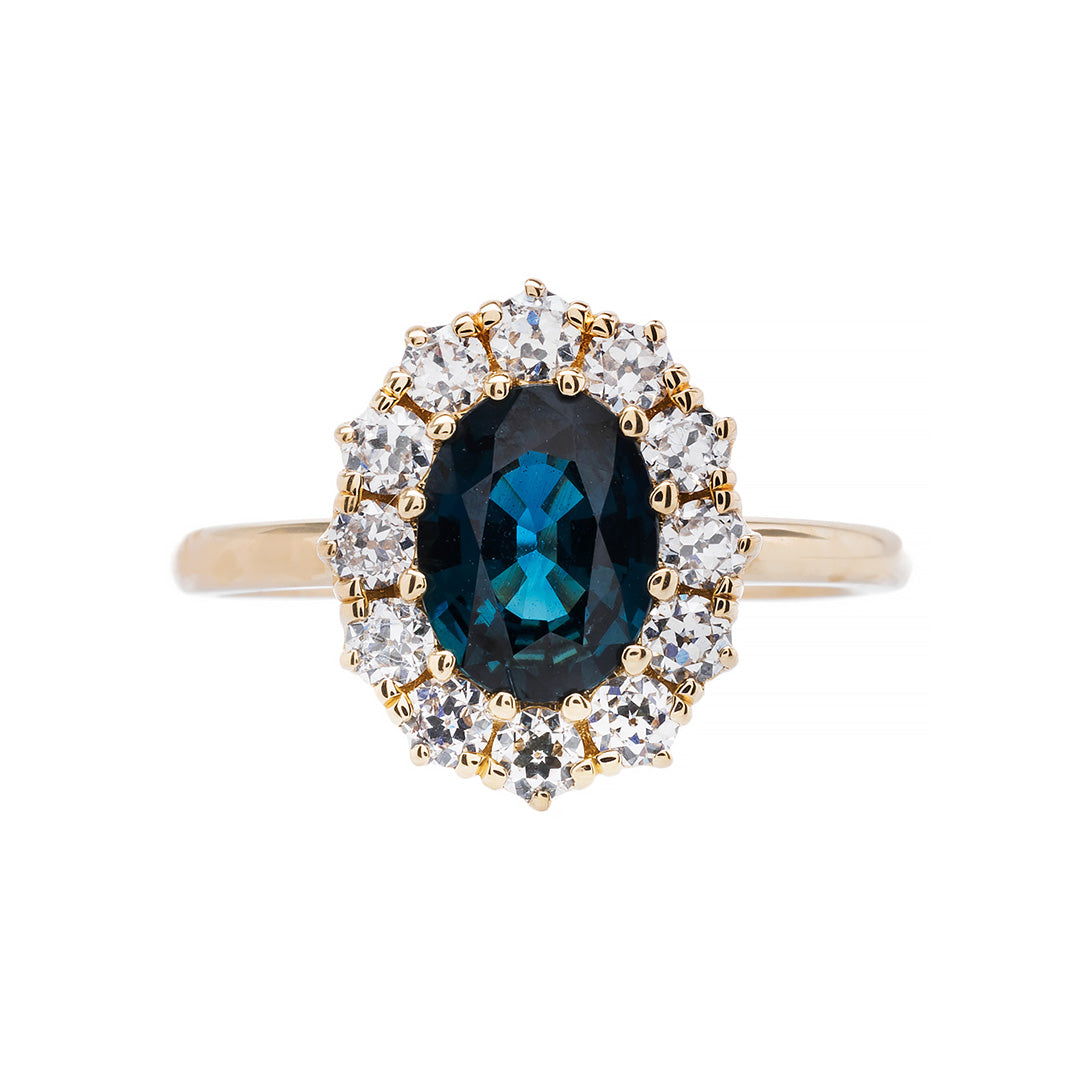 Braswell | Victorian Inspired Engagement Ring Antique Engagement Ring Victorian Engagement Ring