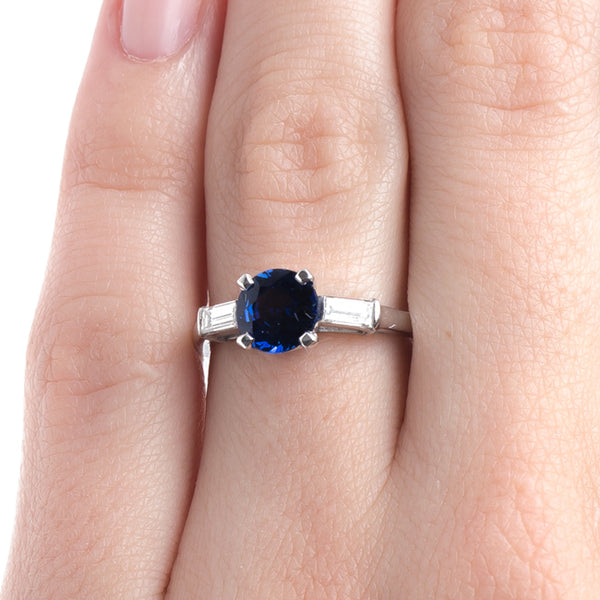 Classically Designed Natural Sapphire Engagement Ring | Braewood from Trumpet & Horn
