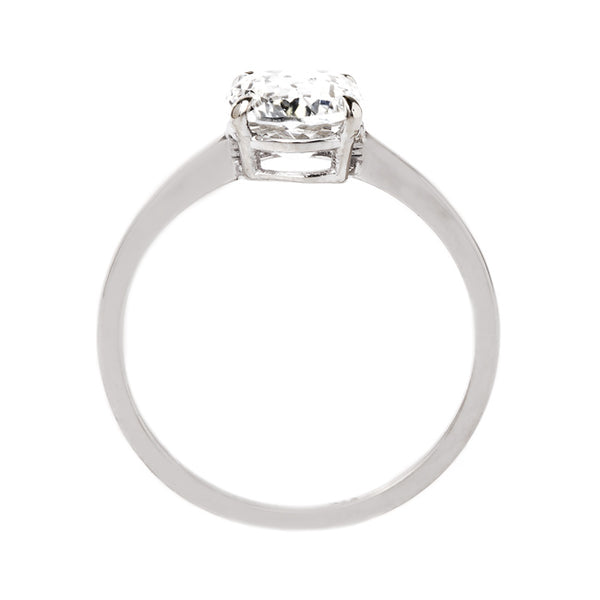 Delicate Oval Cut Solitaire Ring | Brisbane from Trumpet & Horn