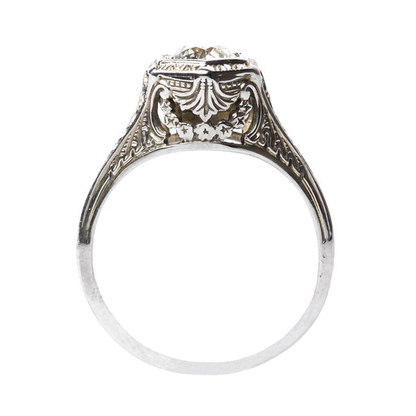 Bristlewood | Edwardian Era Engagement Ring with Old European Cut Solitaire from Trumpet & Horn