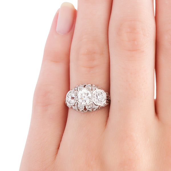 Vintage Edwardian Era Engagement Ring | Brookdale from Trumpet & Horn