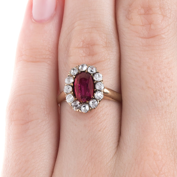 Stunning No Heat Victorian Ruby Ring |  Byworth from Trumpet & Horn