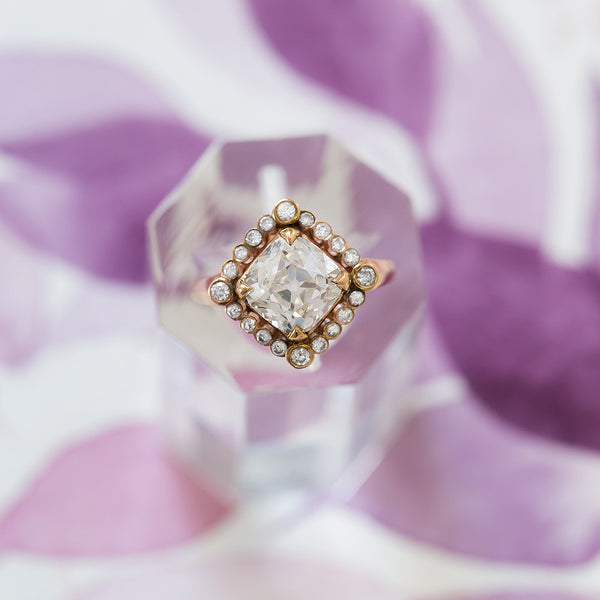 Claire Pettibone Couture | Byzantine Diamond from Trumpet & Horn