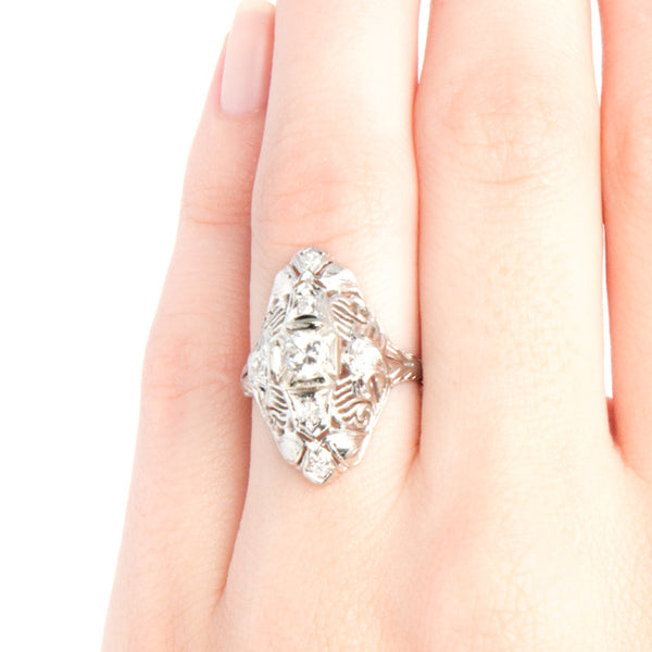Edwardian Engagement Ring | Cadwell from Trumpet & Horn