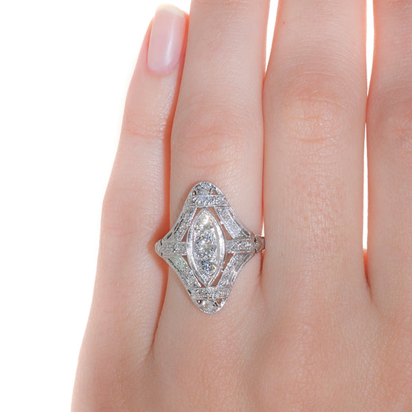 Art Deco Engagement Ring | Vintage Engagement Ring | Calhoun from Trumpet & Horn