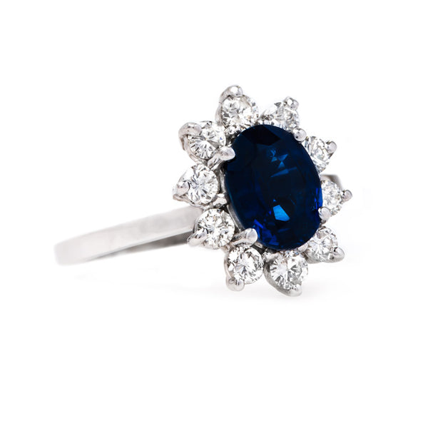 Delightful White Gold Sapphire Ring | Camden from Trumpet & Horn