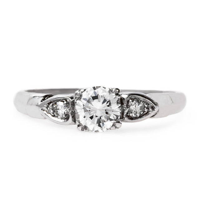 Lovely Mid-Century Modern Engagement Ring | Carroll Gardens from Trumpet & Horn