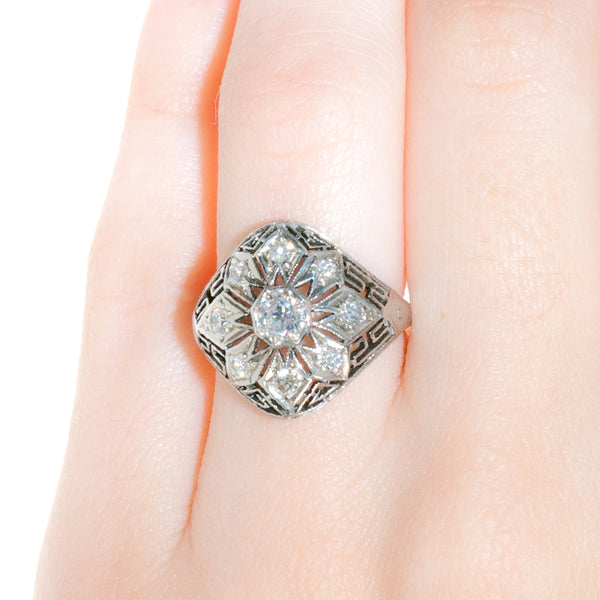 cartersville ring on finger