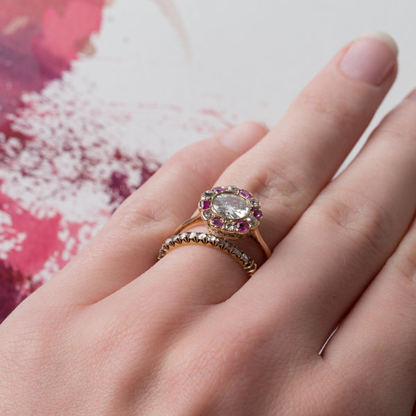 One-of-a-Kind Victorian Era Floral Engagement Ring | Central Park from Trumpet & Horn