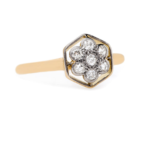 Art Nouveau Flower Petal Ring | Chattanooga from Trumpet & Horn