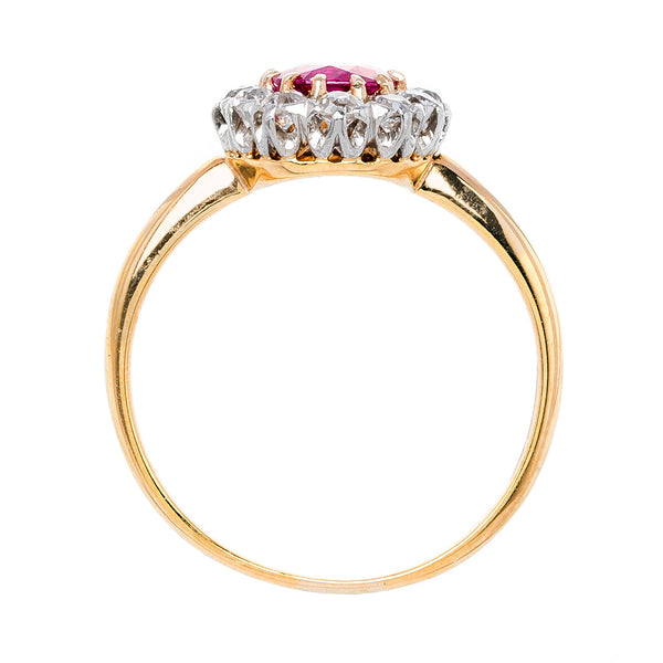 Uneahted Burmese Ruby Engagement Ring | Chelan Way from Trumpet & Horn