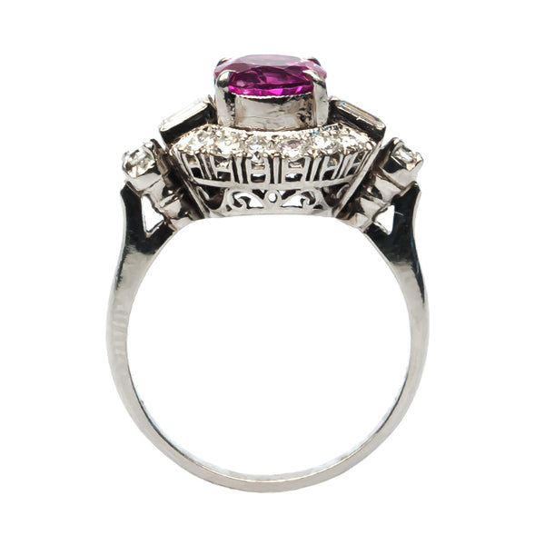 Pink Sapphire Engagement Ring | Create an Unforgettable Memory | Cherry Lane from Trumpet & Horn