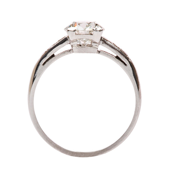 Art Deco Engagement Ring| Cherryville from Trumpet & Horn