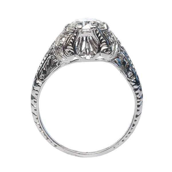 vintage Edwardian diamond engagement ring