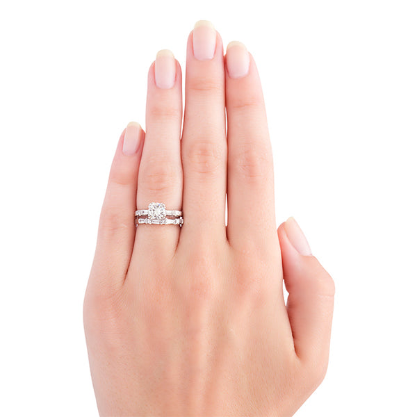 Retro Engagement Ring Set | Clarendon from Trumpet & Horn