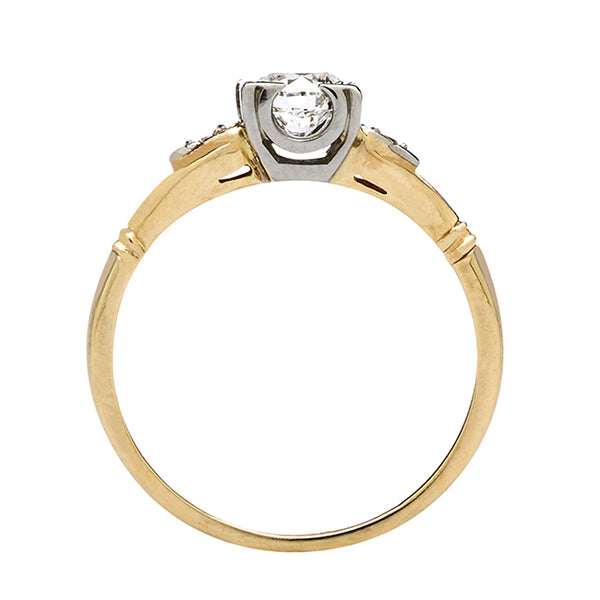 Retro Engagement Ring | Conway from Trumpet & Horn