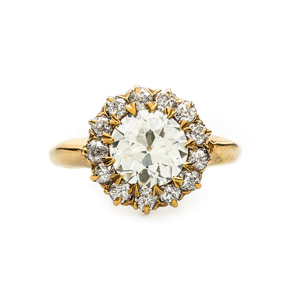 Perfect Victorian Halo Ring | Cordoba