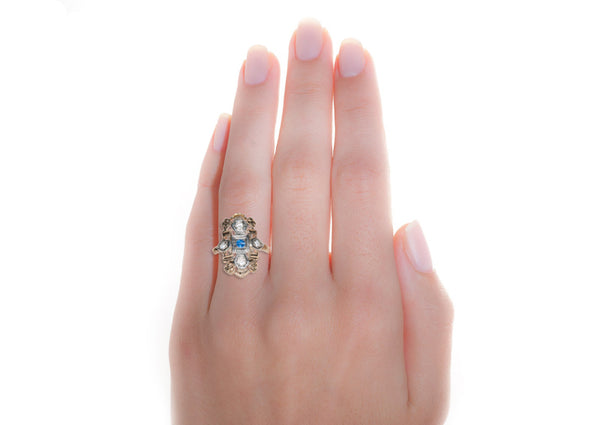 corinne ring on hand