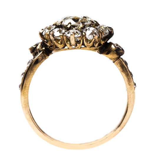 Antique Victorian Halo Ring | Cottonwood Springs from Trumpet & Horn