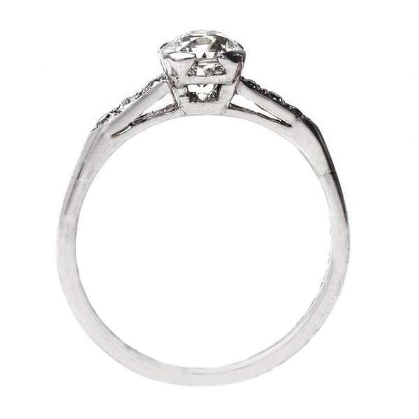 Classic Art Deco Engagement Ring | Crestfield from Trumpet & Horn