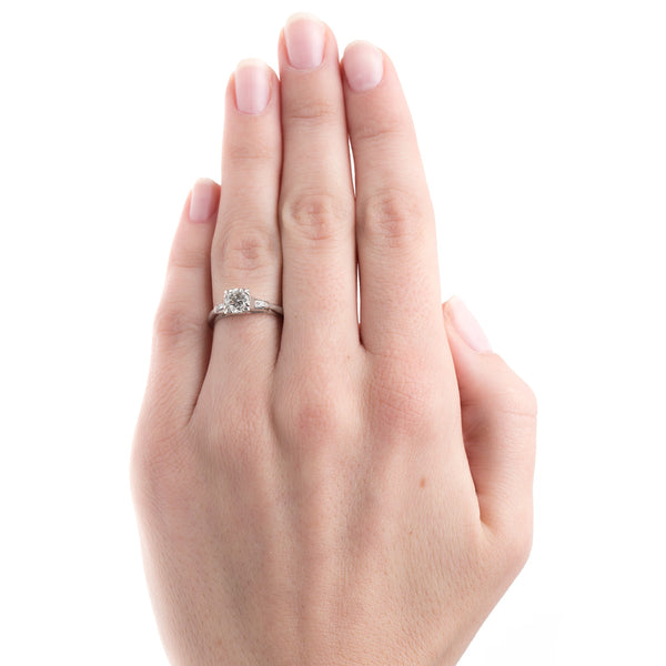 Art Deco Engagement Ring | Cumberland from Trumpet & Horn