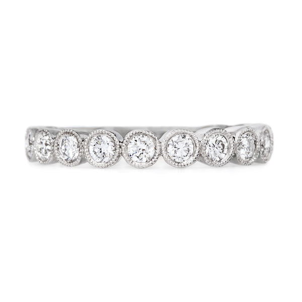 Bold and Beautiful Diamond Wedding Band | Daffodil from Trumpet & Horn