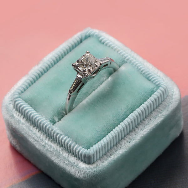 Retro Engagement Ring | Dalton from Trumpet & Horn