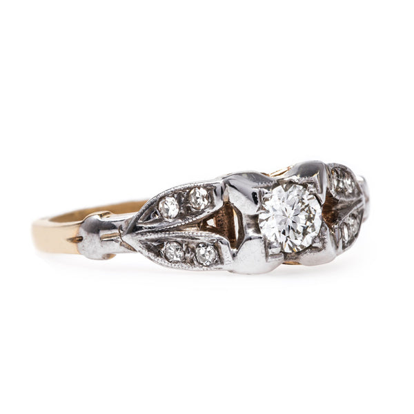 Unique Mixed Metal Engagement Ring | Danforth from Trumpet & Horn