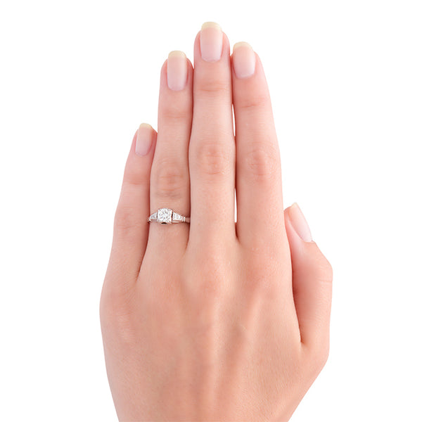 Vintage Art Deco Engagement Ring | Danvers from Trumpet & Horn
