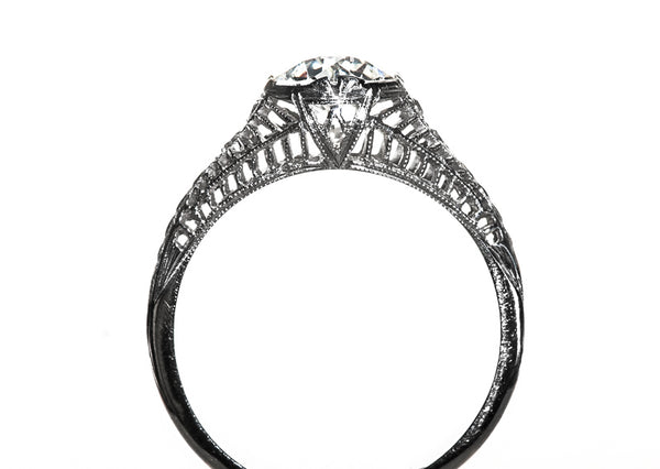 Edwardian Engagement Ring | Vintage Diamond Ring