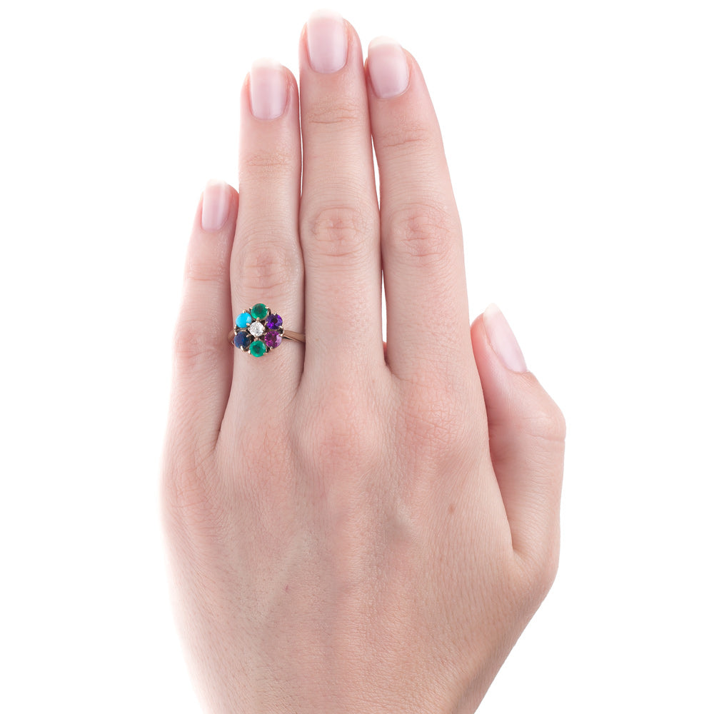 Victorian Dearest Ring with Colored Gemstones | Dearborne – Trumpet ...