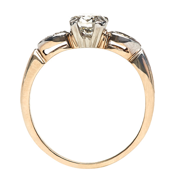 Vintage Gold Simple Engagement Ring