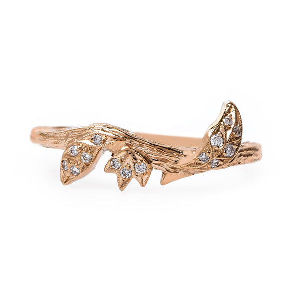 devotion rose gold ring