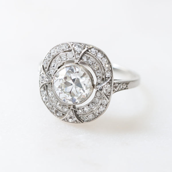 Handcrafted Edwardian Engagement Ring with Impeccable Detail | Ballinger from Trumpet & Horn