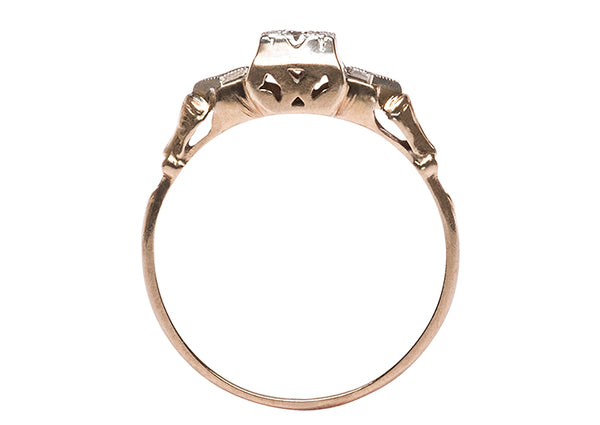 Retro Engagement Ring | Dover from Trumpet & Horn