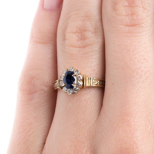 Modern Era Sapphire and Diamond Ring | Eastlake from Trumpet & Horn