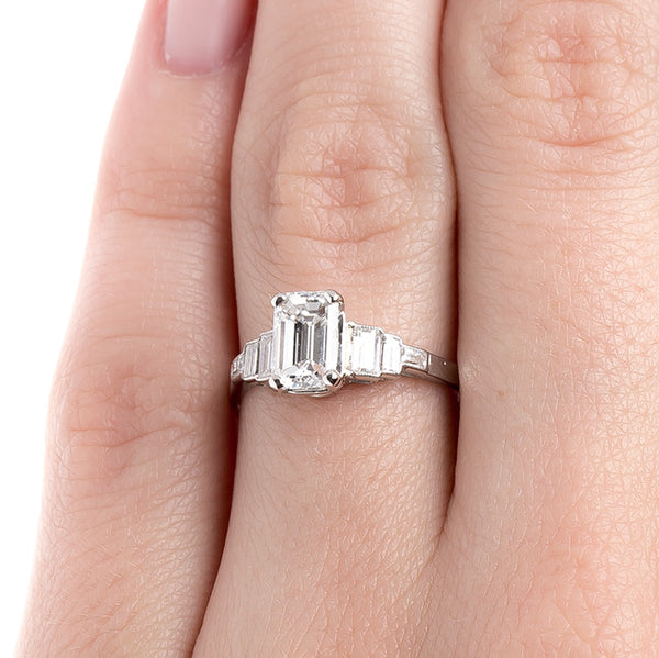 Classic Emerald Cut Diamond Ring | Edendale from Trumpet & Horn