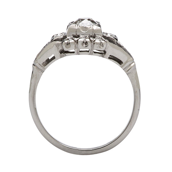 Art Deco Diamond Wedding Ring | Elloree from Trumpet & Horn