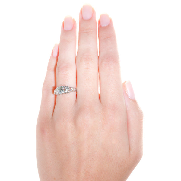 Vintage Art Deco Engagement Ring | Eton from Trumpet & Horn