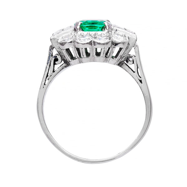 Exceptional Mid-Century Emerald Engagement Ring | Farmdale from Trumpet & Horn