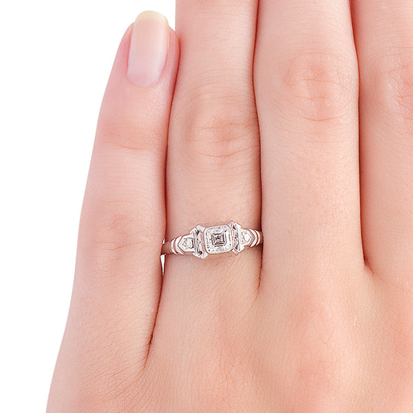 freetown ring on finger