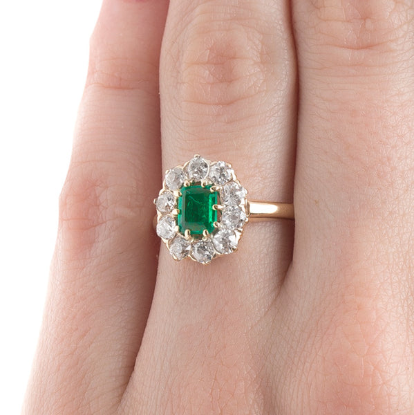 Timeless Victorian Emerald Engagement Ring | Gables from Trumpet & Horn