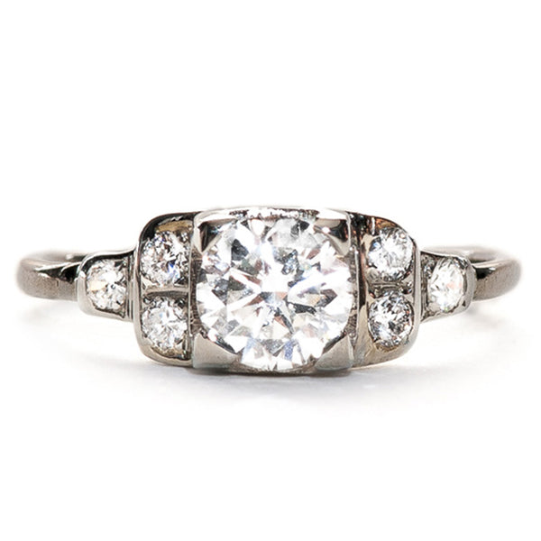 Vintage Art Deco Era Engagement Ring | Graham from Trumpet & Horn