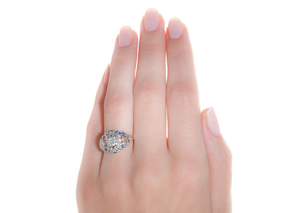 georgetown ring on hand