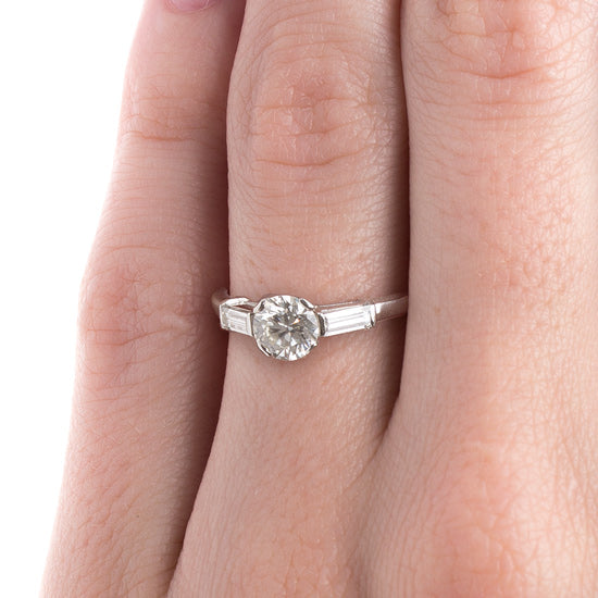 Classic Vintage Mid-Century Engagement Ring | Gladstone from Trumpet & Horn