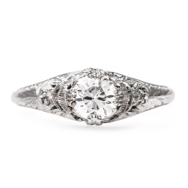 Classic Edwardian Engagement Ring | Glendon from Trumpet & Horn