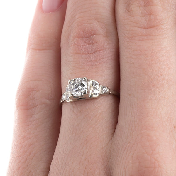 Vintage Engagement Ring | Art Deco Engagement Ring | Grafton from Trumpet & Horn