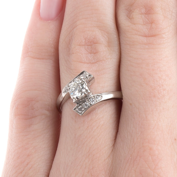Vintage Engagement Ring | Antique Diamond Ring  from Trumpet & Horn